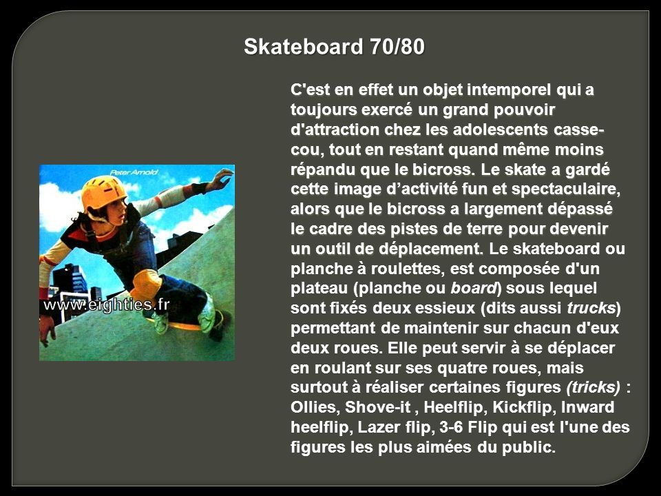 Skateboard 70/80