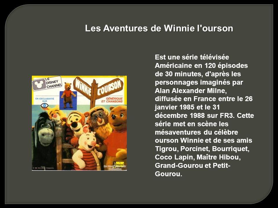 Les Aventures de Winnie l ourson