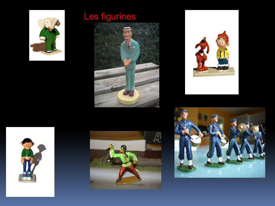 Les figurines