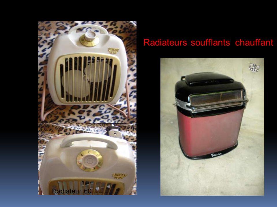 Radiateurs soufflants chauffant