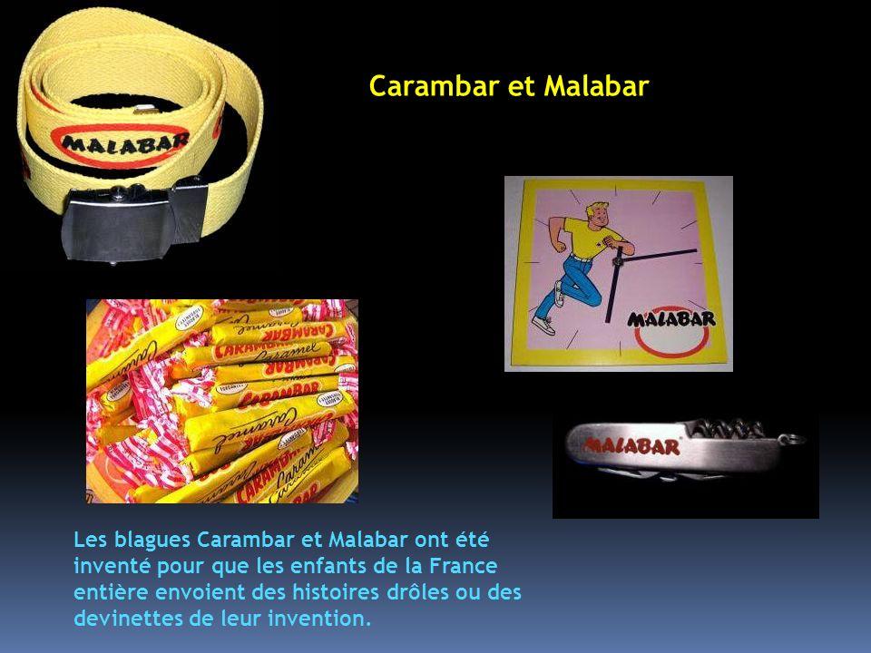 Les blagues Carambar Carambar et Malabar.
