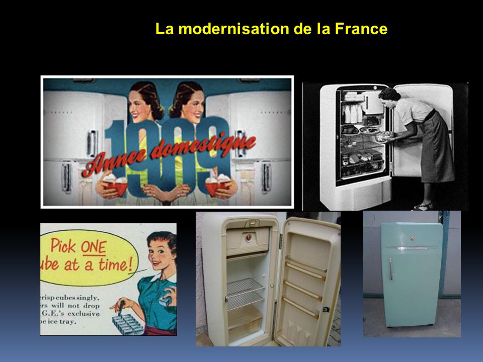 La modernisation de la France