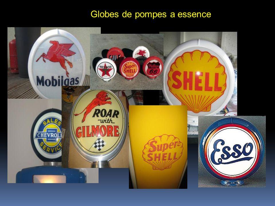 Globes de pompes a essence