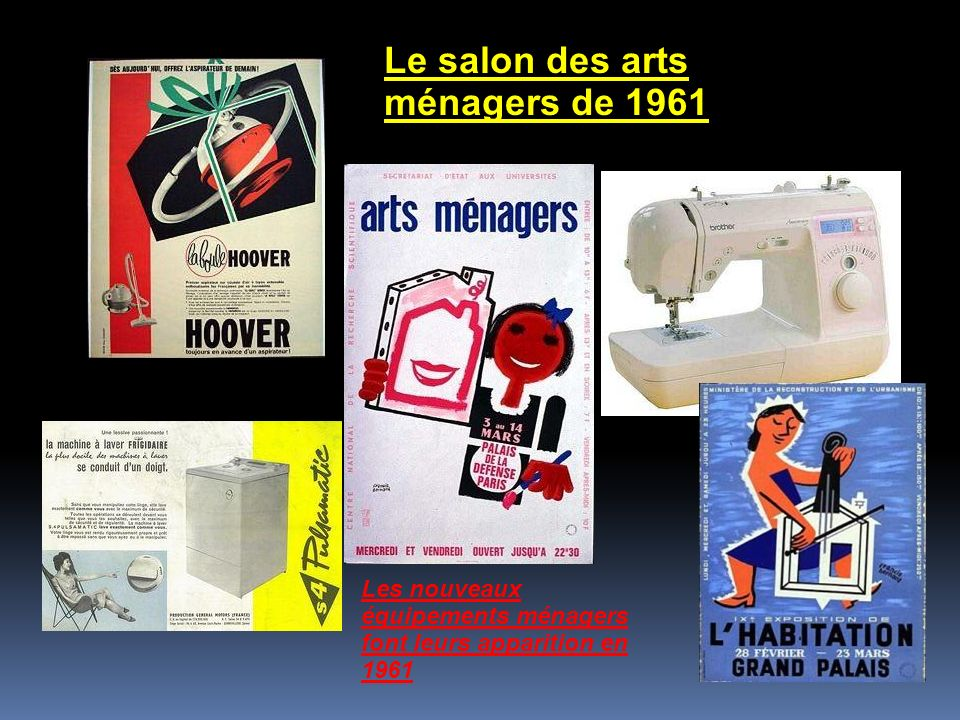 Le salon des arts ménagers de 1961