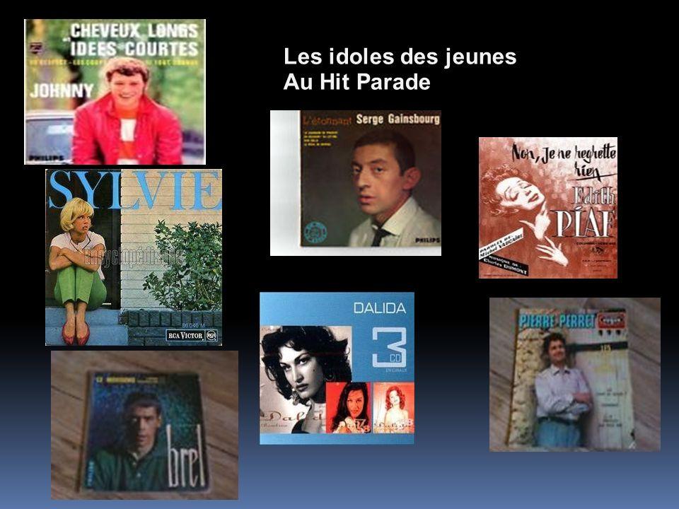 Les idoles des jeunes Au Hit Parade