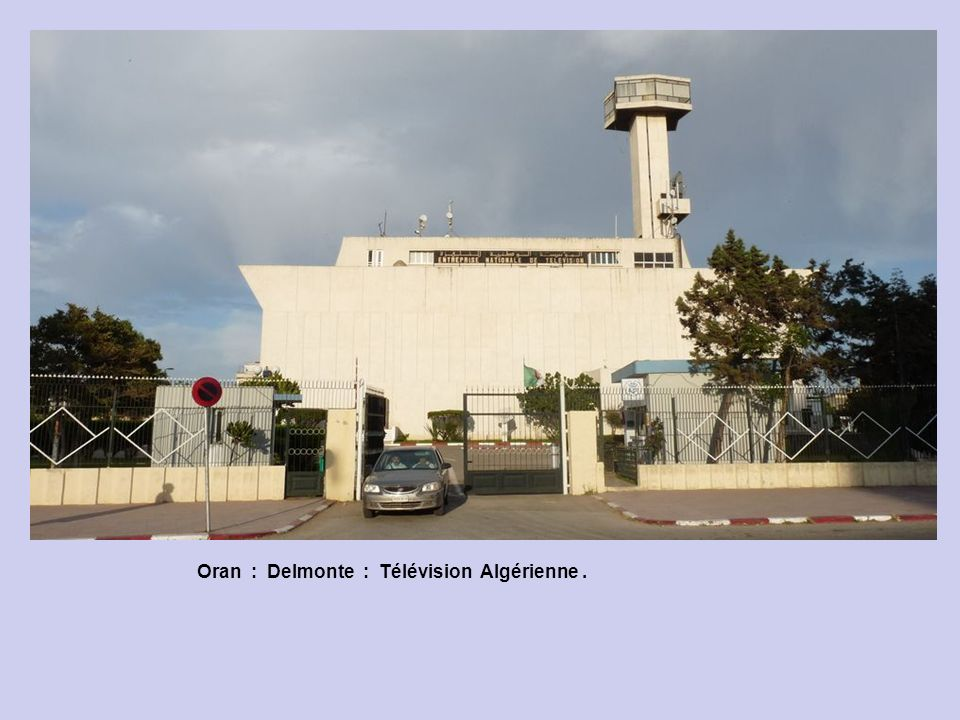 Oran : Delmonte : Télévision Algérienne .
