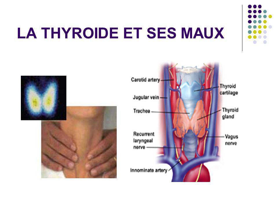 LA THYROIDE ET SES MAUX
