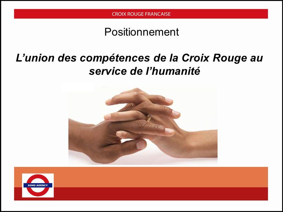 L'union des compétences de la Croix Rouge au service de l'humanité