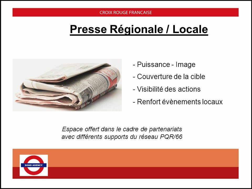 Presse Régionale / Locale