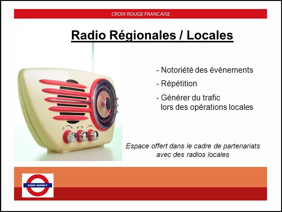 Radio Régionales / Locales