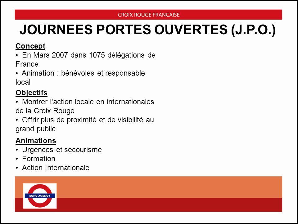 JOURNEES PORTES OUVERTES (J.P.O.)