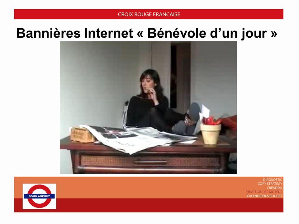 Bannières Internet « Bénévole d'un jour »