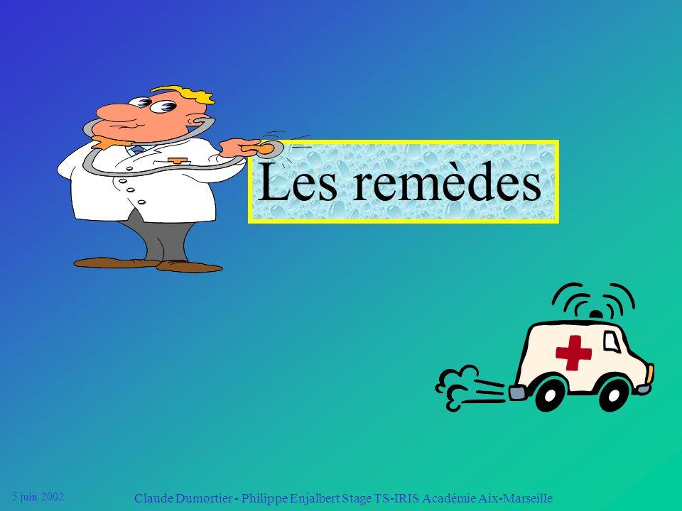 Les remèdes