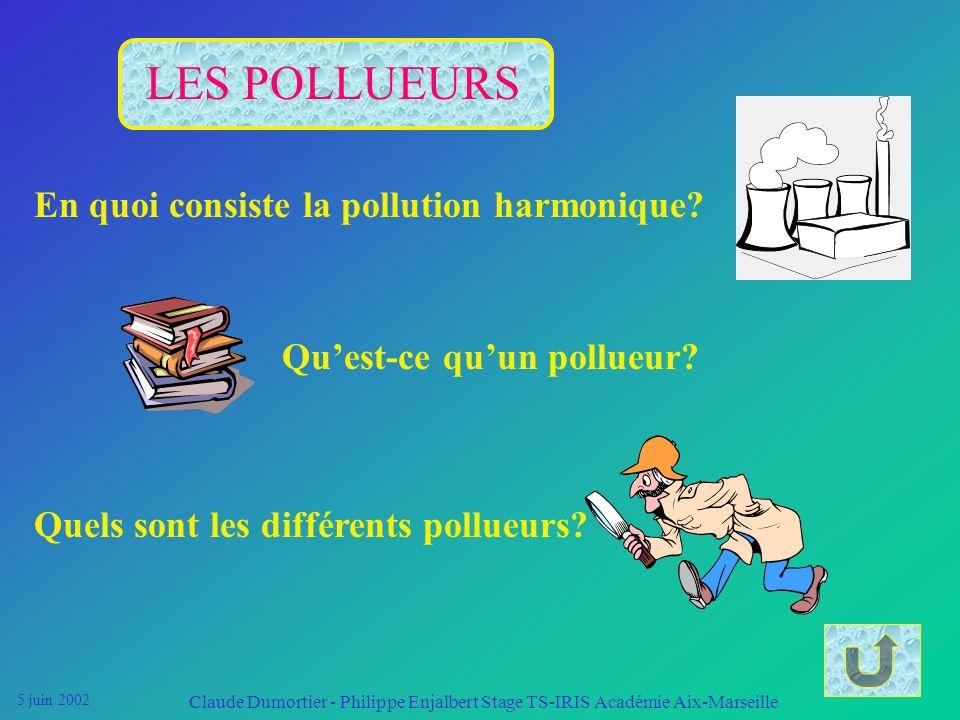 LES POLLUEURS En quoi consiste la pollution harmonique
