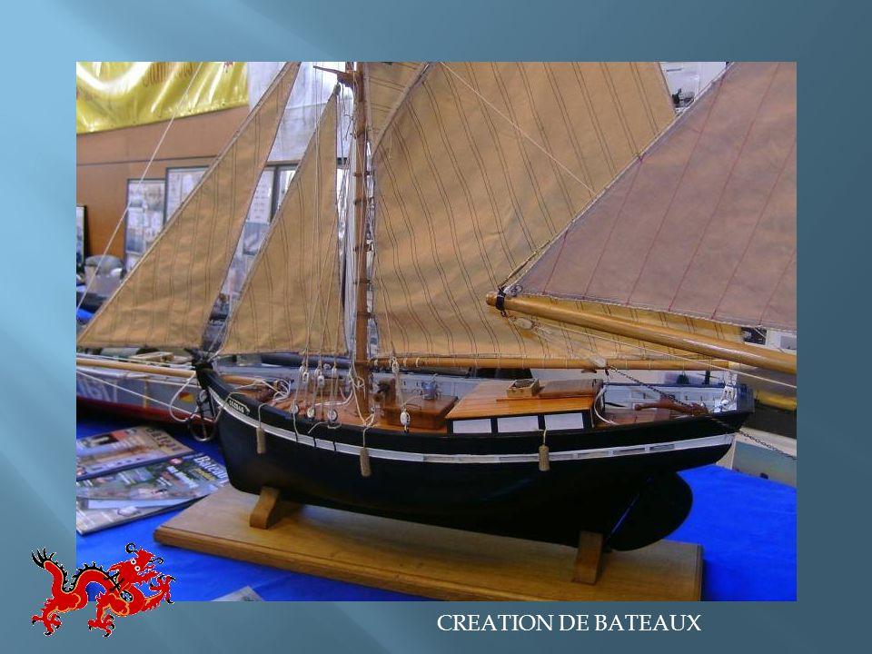 CREATION DE BATEAUX