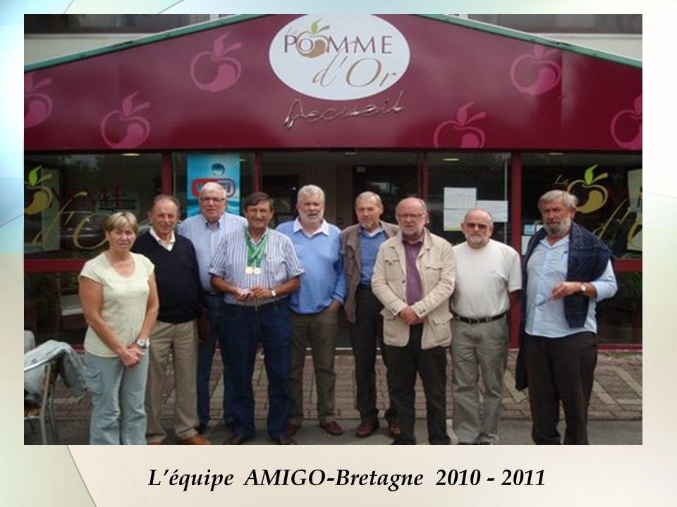 L'équipe AMIGO-Bretagne 2010 - 2011