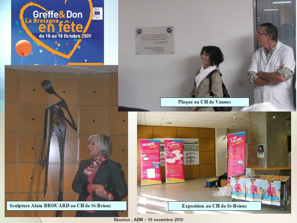 Exposition au CH de St-Brieuc