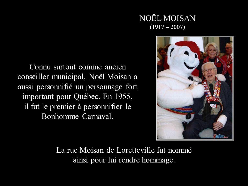 il fut le premier à personnifier le Bonhomme Carnaval.
