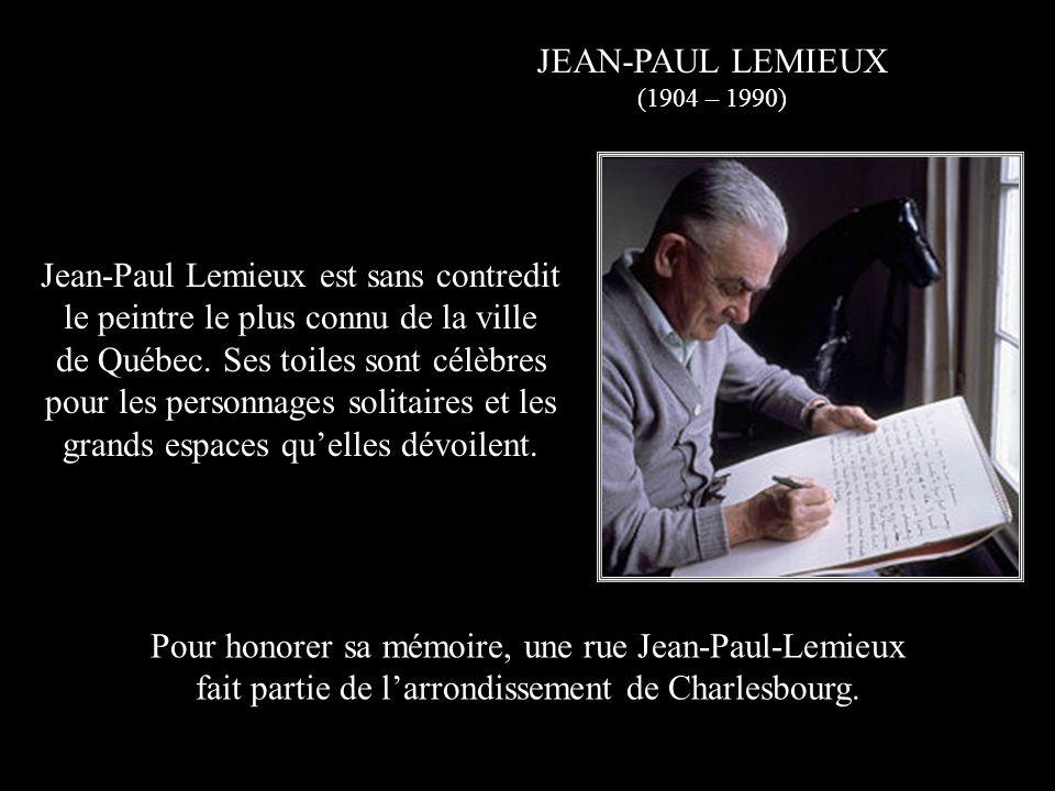Jean-Paul Lemieux est sans contredit