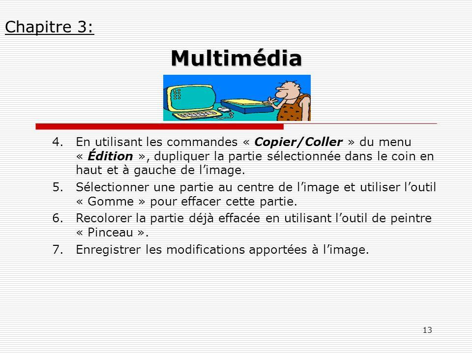 Chapitre 3: Multimédia.