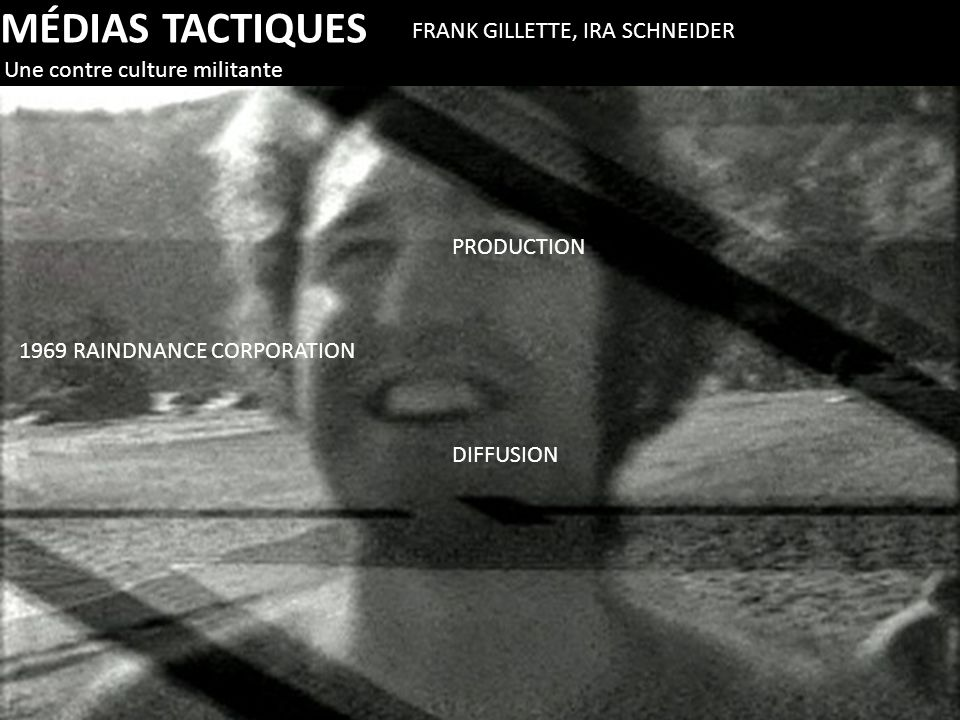 MÉDIAS TACTIQUES FRANK GILLETTE, IRA SCHNEIDER