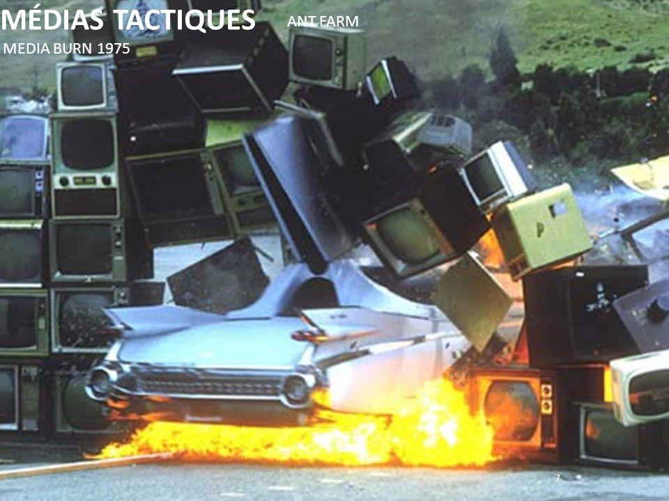 MÉDIAS TACTIQUES ANT FARM MEDIA BURN 1975 7