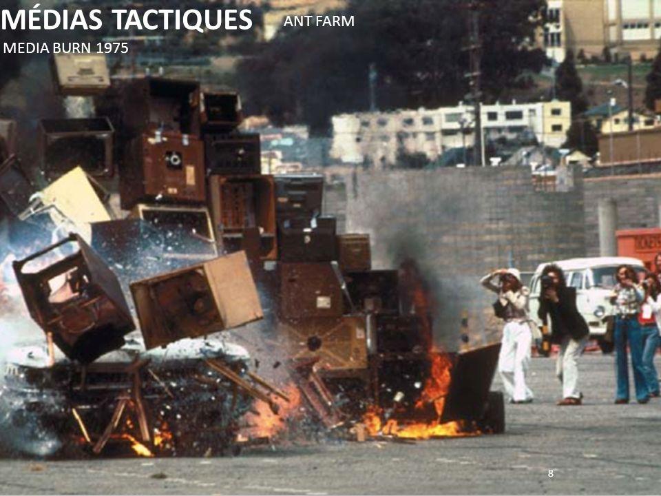 MÉDIAS TACTIQUES ANT FARM MEDIA BURN 1975 8