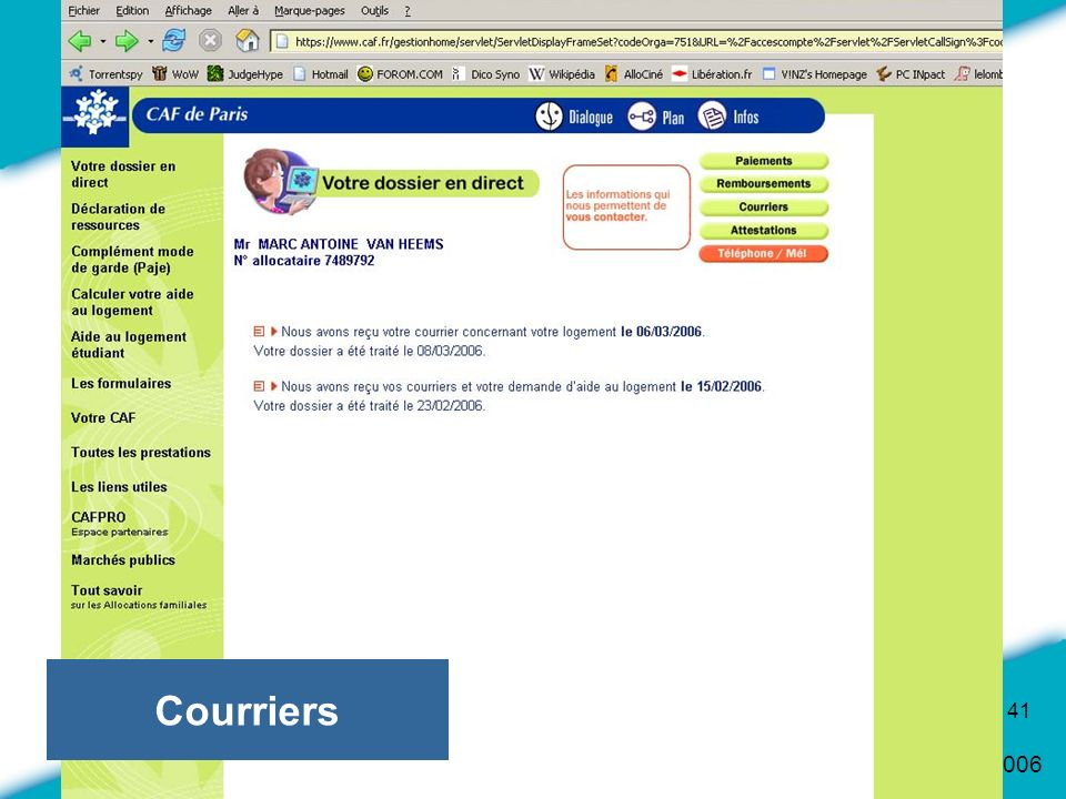 Courriers
