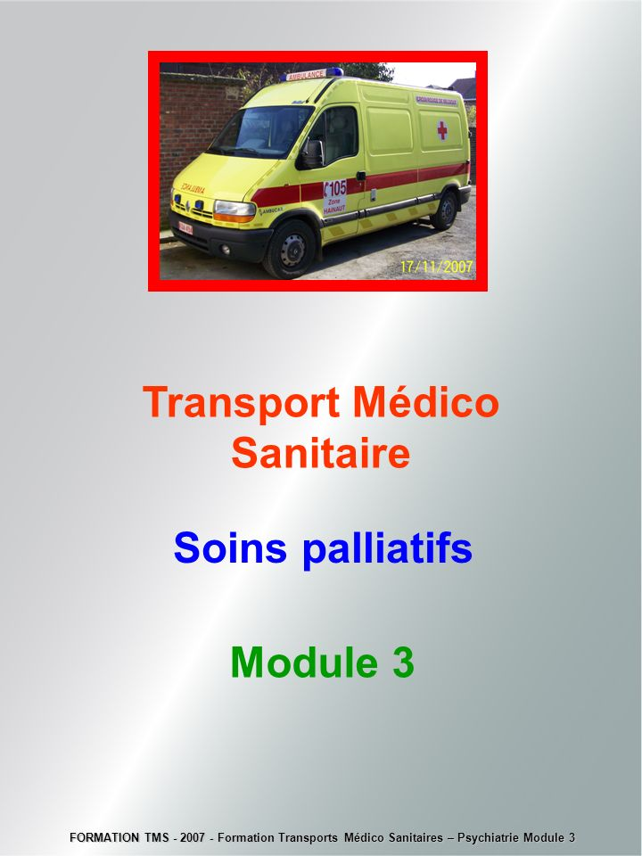 Transport Médico Sanitaire