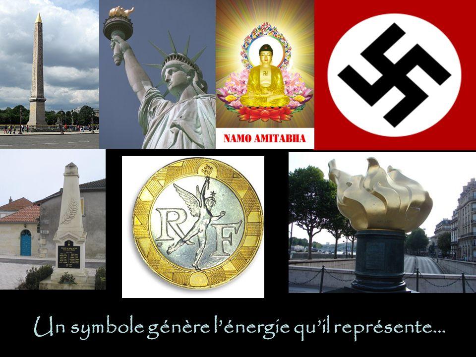 Un symbole génère l'énergie qu'il représente…