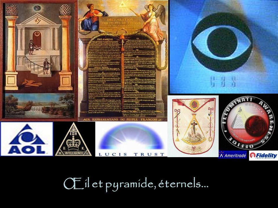 Œil et pyramide, éternels…