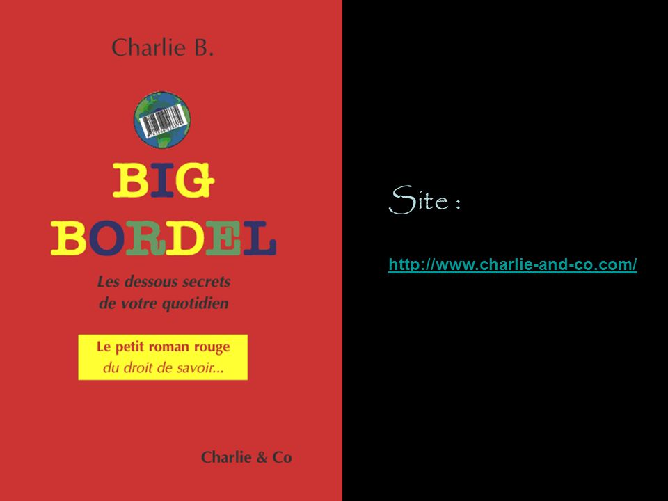 Site : http://www.charlie-and-co.com/