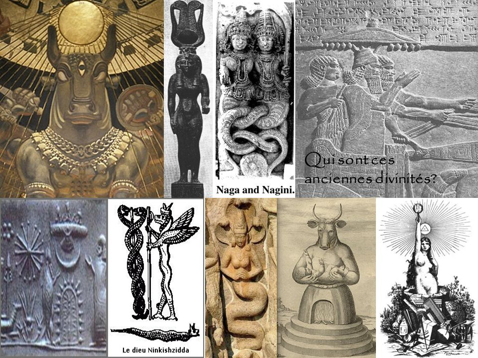 Qui sont ces anciennes divinités