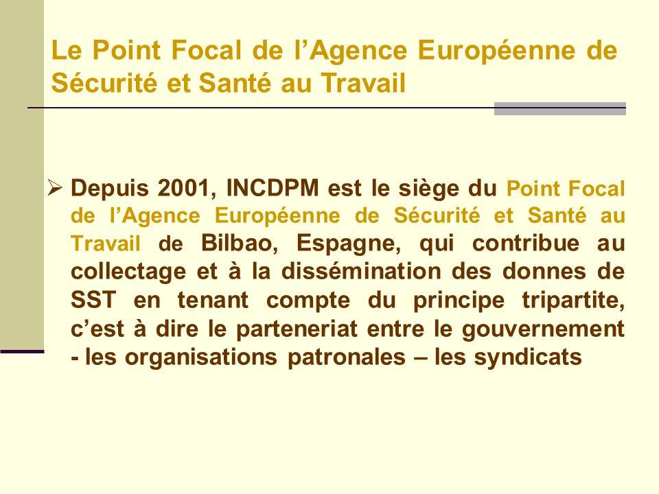 Le Point Focal de l'Agence Européenne de Sécurité et Santé au Travail