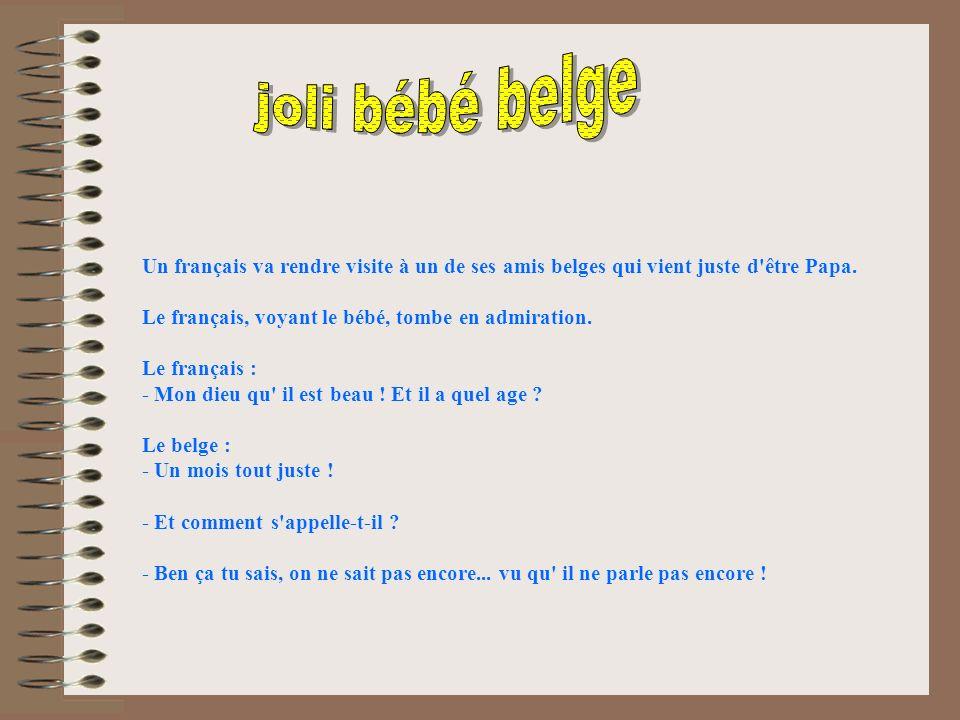 joli bébé belge