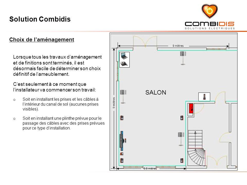 SALON Choix de l'aménagement