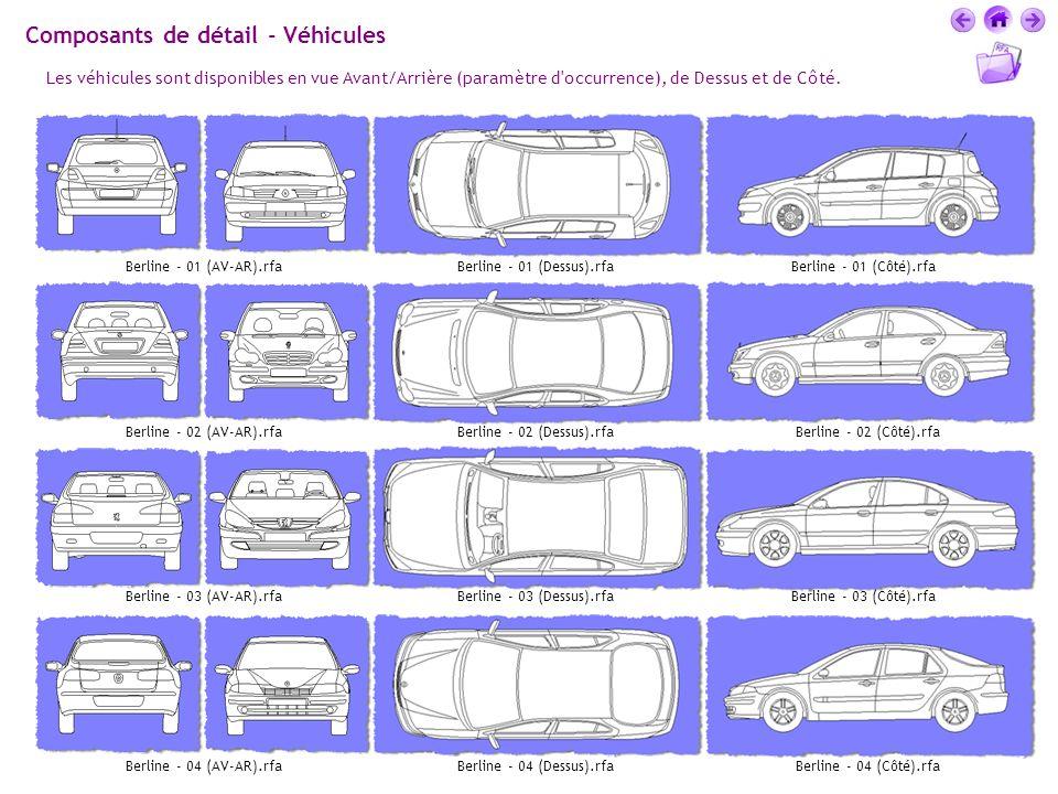 Composants de détail - Véhicules