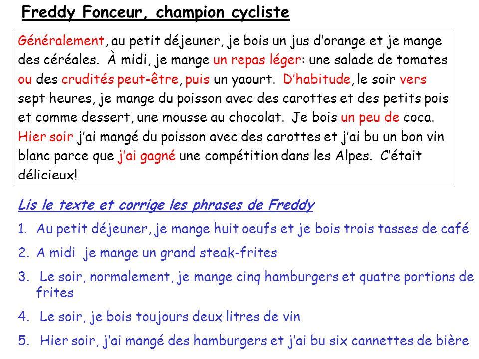 Freddy Fonceur, champion cycliste