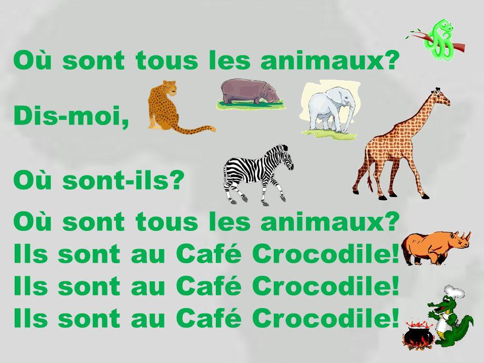 Où sont tous les animaux