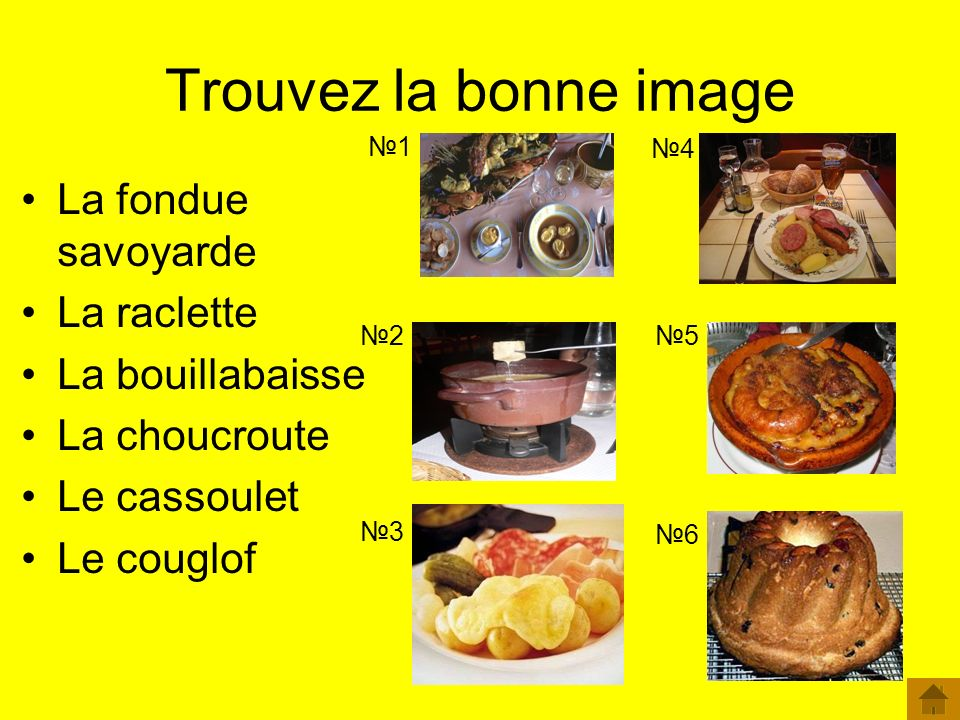 Trouvez la bonne image La fondue savoyarde La raclette