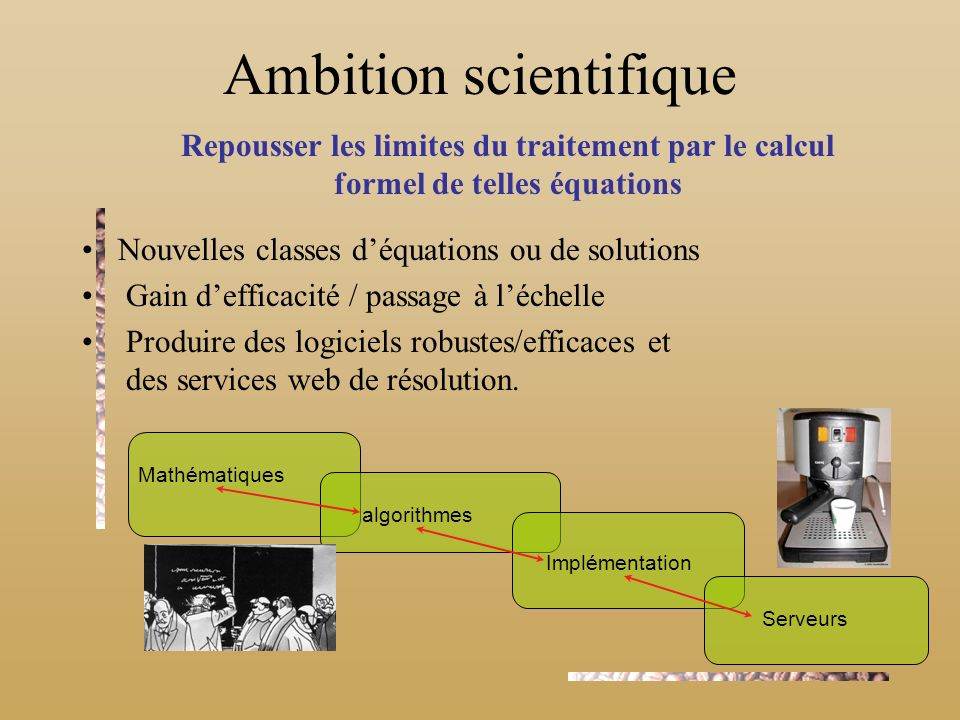 Ambition scientifique