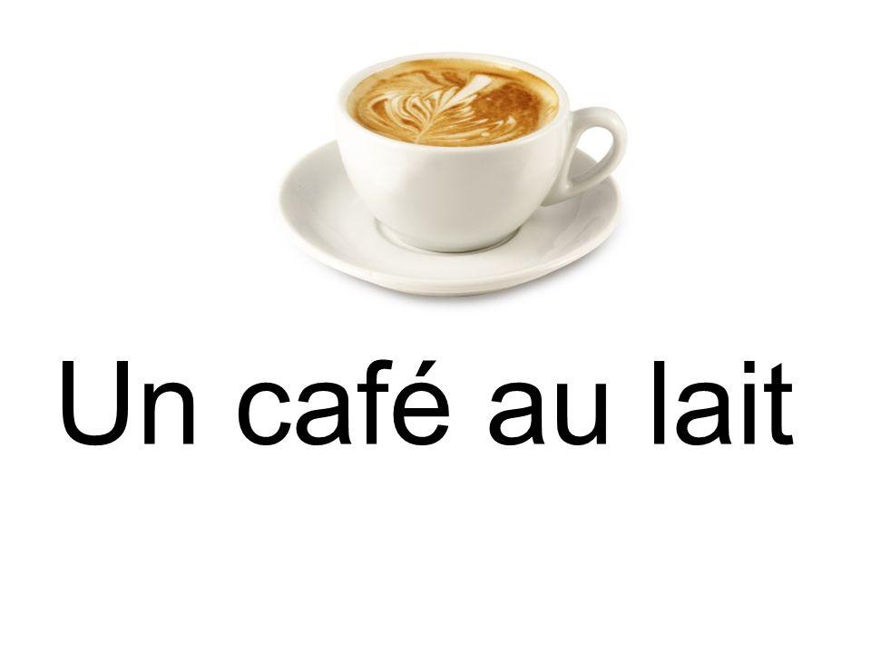 Un café au lait