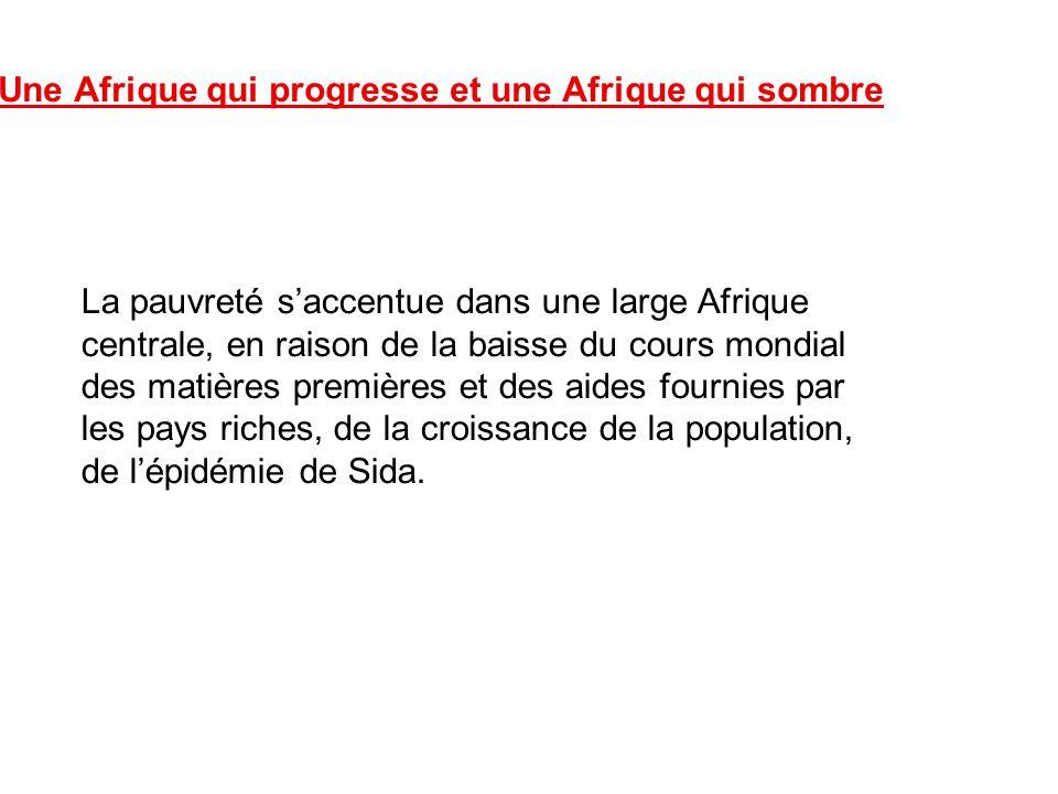 2. Une Afrique qui progresse et une Afrique qui sombre