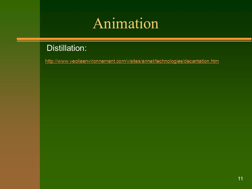 Animation Distillation: