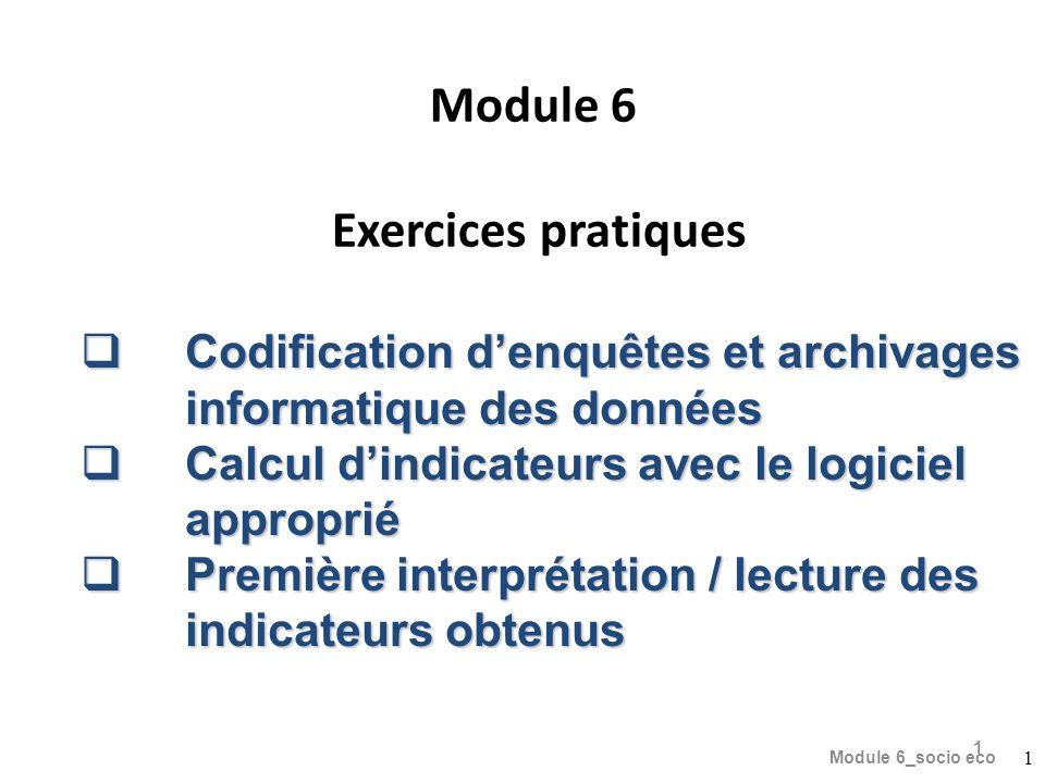 Module 6 Exercices pratiques