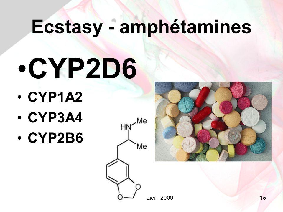 Ecstasy - amphétamines