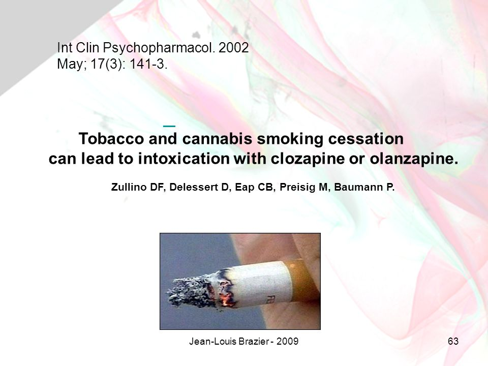 Tobacco and cannabis smoking cessation