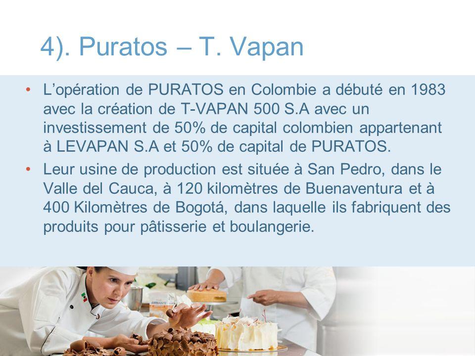 4). Puratos – T. Vapan