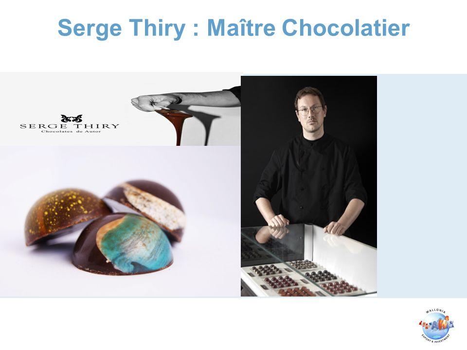 Serge Thiry : Maître Chocolatier