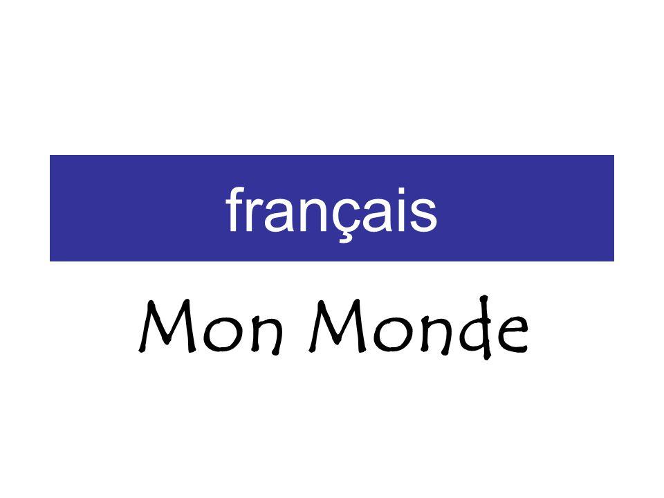 français Mon Monde